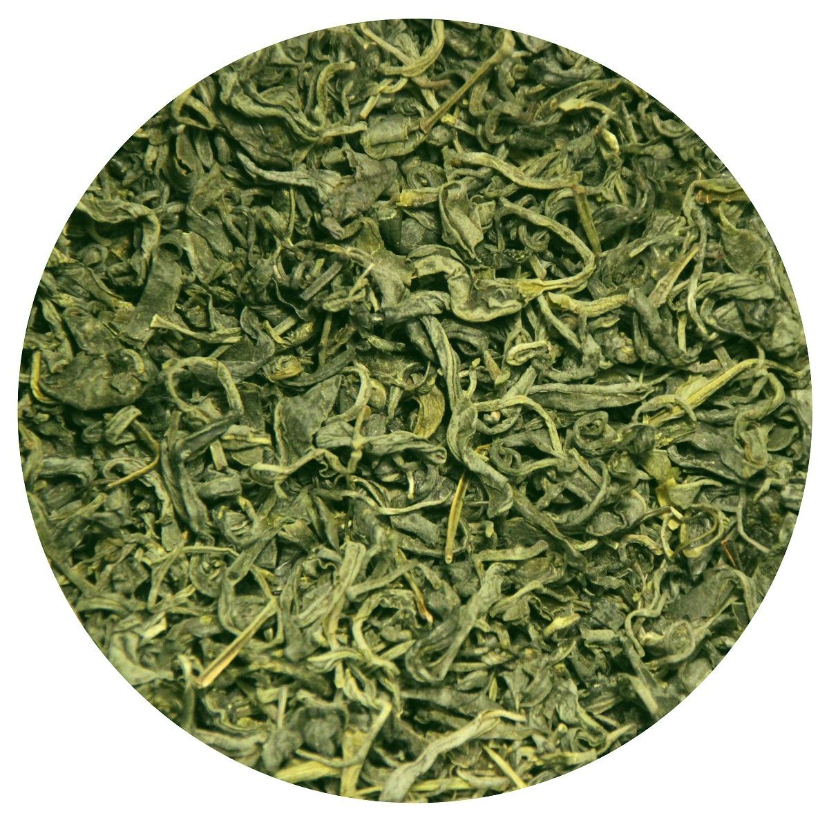 Грузинский цельнолистовой скрученный зелёный чай