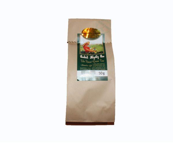 Грузинский зелёный чай в бумажной упаковке