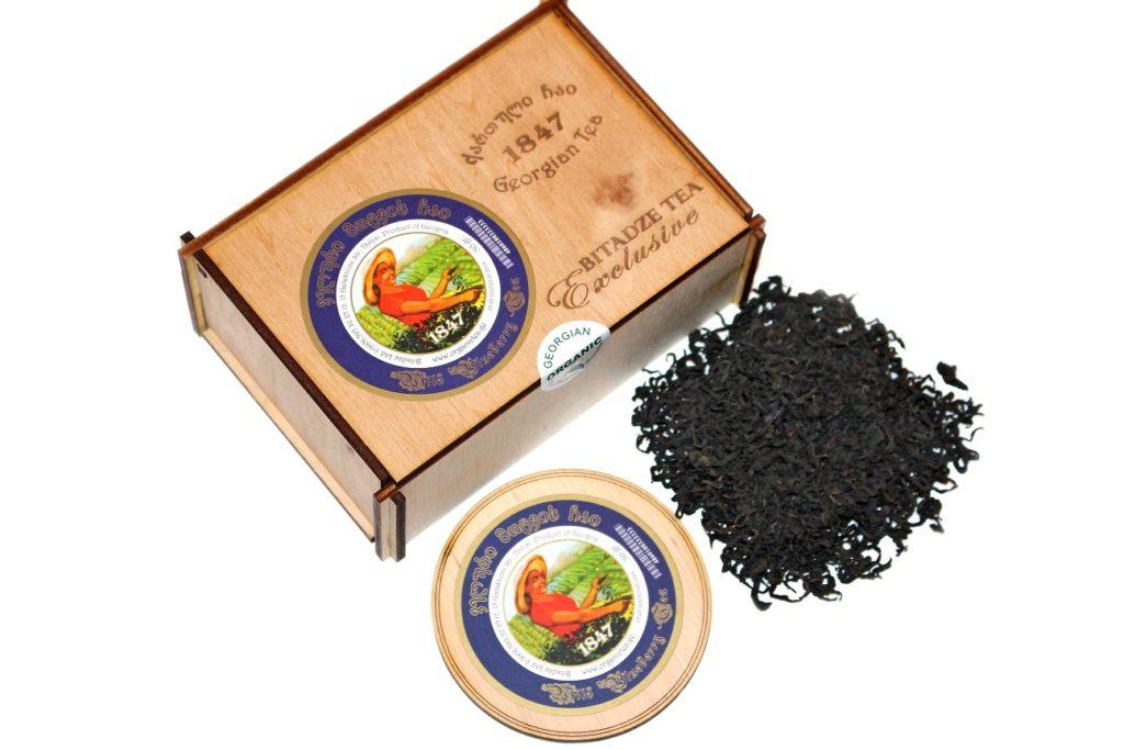 Чай из листьев высокогорной черники в бумажной упаковке