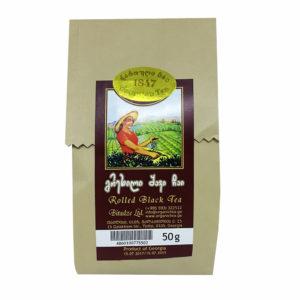 Грузинский чёрный чай в бумажной упаковке