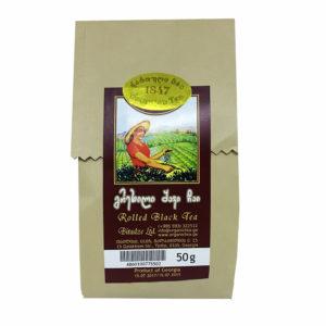 Грузинский чёрный чай в подарочной упаковке