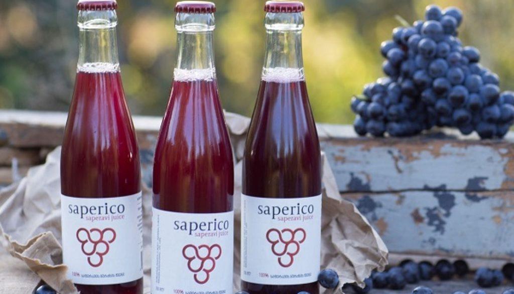 Saperico grape juice