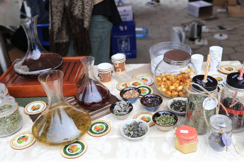 Фестиваль чая в Тбилиси
