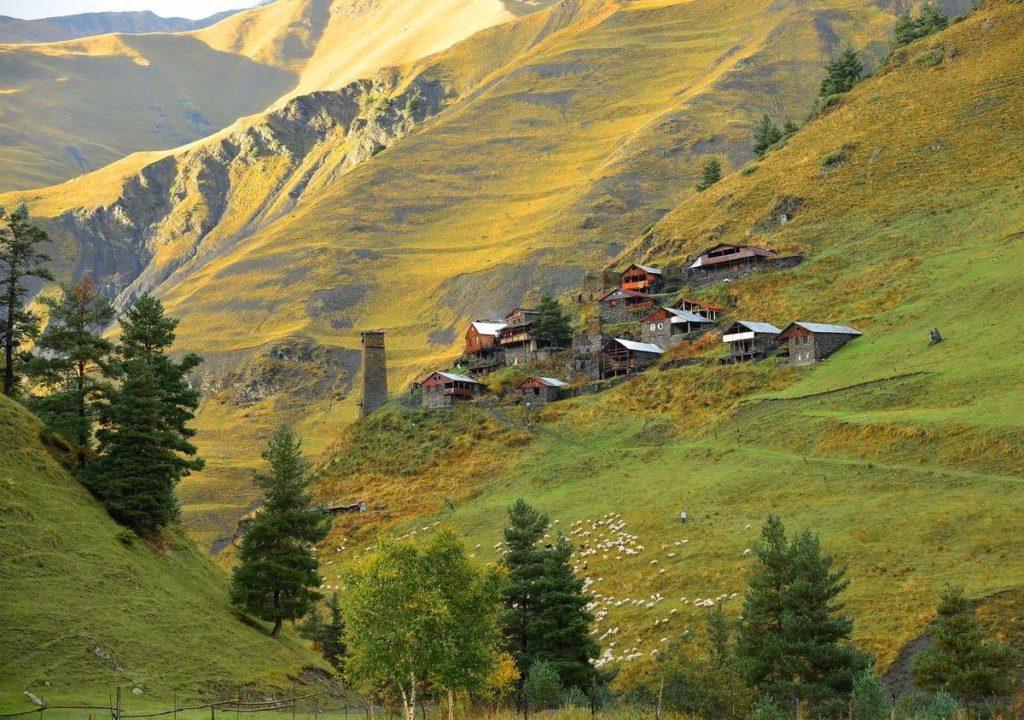 В Тушетии восстановят 10 древнейших поселков-крепостей