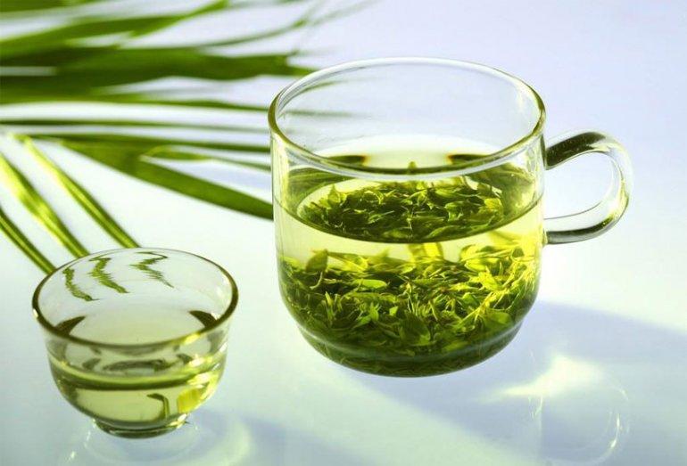 Грузинский зелёный чай в подарочной упаковке