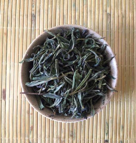 Грузинский  высокогорный дикий зелёный чай