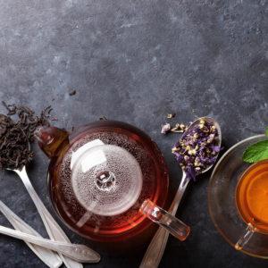 Чай без кофеина и травы