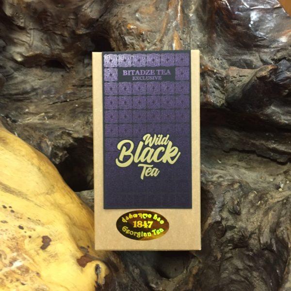 Грузинский  высокогорный дикий чёрный чай в подарочной упаковке