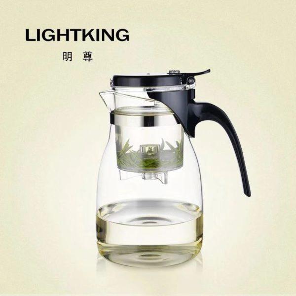 Чайник гунфу заварочный стеклянный А14 — 900ml