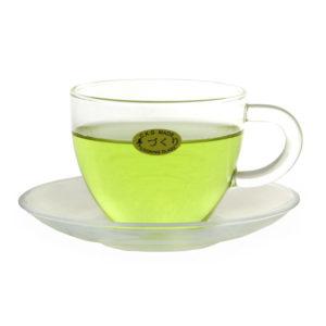 Чашка стеклянная с блюдцем 127LА — 150ml