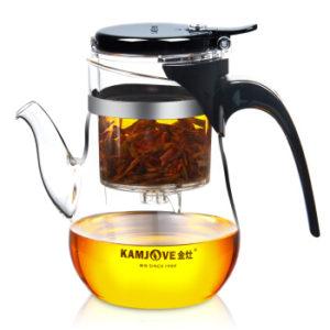Чайник заварочный стеклянный (Типод) Kamjove  — 650ml