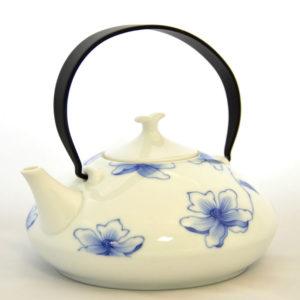 Чайник заварочный фарфоровый «Лилия»