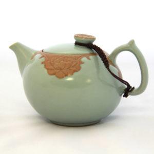 Чайник заварочный фарфоровый «Лотос»