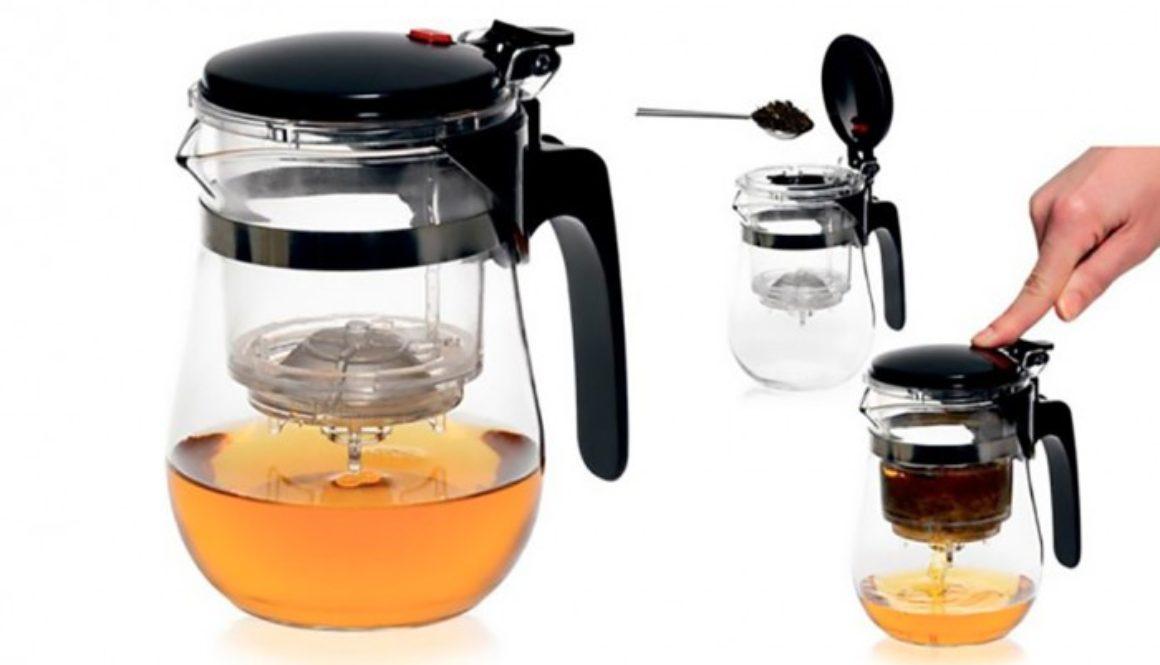 Типод – заварочный чайник с кнопкой