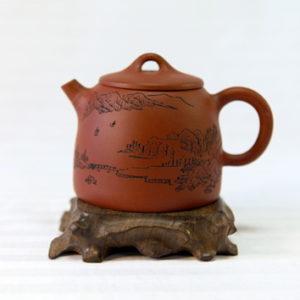 Чайник заварочный глиняный «Пейзаж»