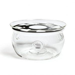 Подставка для чайника стекляная Тама малая