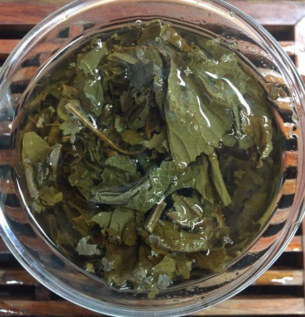 Ежевичный чай в гайвани