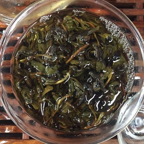 Прожаренный зелёный чай в гайвани